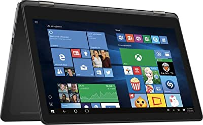 "2016 DELL Inspiron i7568 Flagship High Performance 2-in-1 15.6"" 4K Ultra HD Touchscreen Convertible Laptop PC, Intel Core i7-6500U Processor, 8GB RAM, 1TB HDD, Backlit Keyboard, Windows 10"