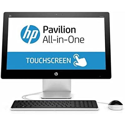 "2016 HP 21.5"" Touchscreen All-in-One Desktop Computer (Intel Pentium G3260T 2.9 GHz CPU, 4GB DDR3 RAM, 1TB HDD, DVD+/-RW, 21.5"" IPS FHD Backlit Display, WiFi, Windows 10) (Certified Refurbished)"