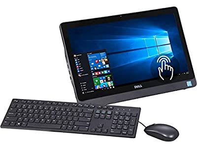 "2016 Newest Dell Inspiron I3052 19.5"" HD+ Touchscreen All-in-One Desktop PC, Intel Pentium Quad-Core Processor, 4GB RAM, 500GB HDD, DVD +/- RW, Webcam, WIFI, Bluetooth, Windows 10"