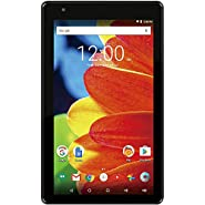 2016 Newest Premium RCA Voyager 7-inch Touchscreen Tablet PC 1.2Ghz Quad-Core Processor 1G Memory 16GB Hard Drive Webcam Wifi Bluetooth Android 6.0 Marshmallow OS Black