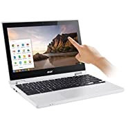 "2017 Acer Premium 11.6"" Convertible 2-in-1 HD IPS LED Backlight Touchscreen Chromebook, Intel Quad-Core Celeron N3160 up to 2.24GHz, 4GB RAM, 32GB SSD, Bluetooth, HD Webcam, HDMI, USB 3.0, Chrome OS"
