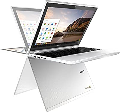 "2017 Acer R11 11.6"" Convertible HD IPS Touchscreen Chromebook, Intel Celeron Dual Core up to 2.48GHz, 4GB RAM, 16GB SSD, 802.11ac, Bluetooth, HDMI, USB 3.0, Webcam, Chrome OS (Certified Refurbishd)"