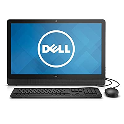 "2017 Dell Inspiron 23.8"" Full HD IPS All-In-One Desktop PC, Intel Pentium N3700 Quad-Core Processor, 4GB RAM, 500GB HDD, DVD +/- RW, Webcam, 802.11ac, HDMI, Bluetooth, Windows 10"