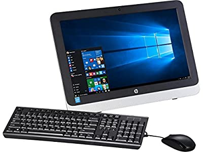 2017 HP 21.5-Inch Full HD 1080P All-in-One Desktop Computer (Intel Dual Core up to 2.16GHz, 4GB RAM, 500GB HDD 7200rpm, Ultra Slim DVD Burner, WLAN, HDMI, USB 3.0, Windows 10 (Certified Refurbishd)