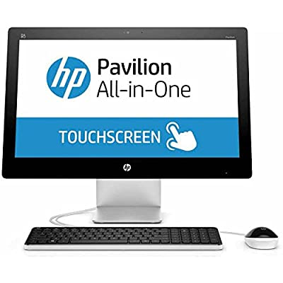 2017 HP Pavilion 21.5 Inch Touchscreen FHD All-in-One Flagship Preimium Desktop Computer (Intel G3260T Dual-Core 2.9GHz, 4GB DDR3 RAM, 1TB HDD, Wifi, DVD, Windows 10) (Certified Refurbished)