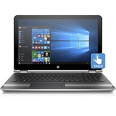 2017 HP Pavilion x360 15.6 Inch Touchscreen Premium Flagship Laptop (Intel Core i5-6200U up to 2.8GHz, 8GB RAM, 1TB HDD, WiFi, Backlit Keyboard, Windows 10 Home) (Certified Refurbished)