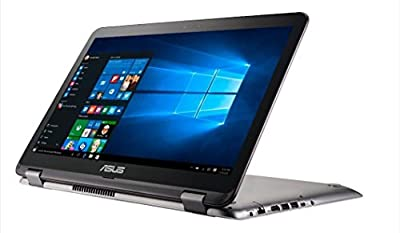 "2017 New Asus VivoBook Flip 15.6"" FHD Touchscreen 2-in-1 convertible Laptop computer, Intel i7-7500U up to 3.5 GHz, NVIDIA GeForce 940MX Graphics, 12GB DDR4, 1TB HDD+256GB SSD, 802.11ac, Windows 10"