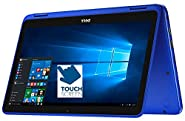 "2017 Newest Dell Inspiron 11.6"" HD 2-in-1 Convertible Touchscreen Laptop (Tablet), Intel Quad-Core Pentium N3710 up to 2.56GHz, 4GB RAM, 500GB HDD, MaxxAudio, WLAN, Bluetooth, HDMI, Webcam, Windows 10"