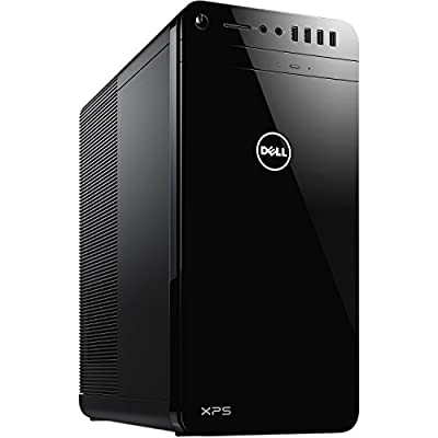 2017 Newest Flagship Model Dell XPS 8920 Premium High Performance Tower Desktop, Intel Quad-Core i7-7700 3.6GHz, 24GB RAM, 1TB HDD+256GB SSD, 8GB AMD Radeon RX 480 Graphics, Windows 10, Black