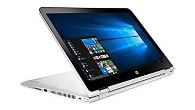 "2017 Newest HP Pavilion x360 2-in-1 Convertible 15.6"" FHD Touchscreen Flagship High Performance Laptop PC, Intel Core i5-7200U Dual-Core, 8GB RAM, 1TB HDD, Webcam, 802.11ac, Windows 10, Silver"