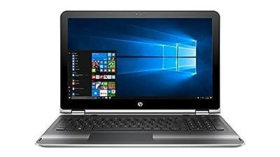 "2017 Newest HP x360 Flagship High Performance 2-in-1 Convertible Laptop PC 15.6"" Full HD 1920x1080 TouchScreen Intel i5-7200U 8GB RAM 1TB HDD HDMI IPS 802.11AC Bluetooth Windows 10 Silver"
