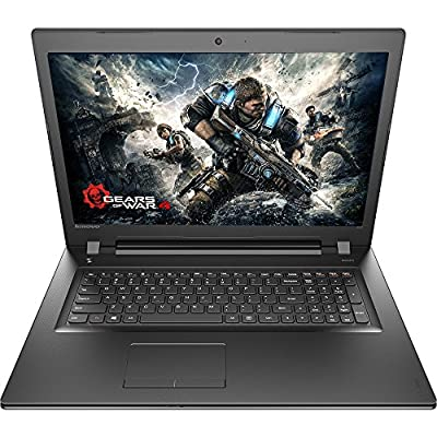 2017 Newest Lenovo Premium Built High Performance 15.6 inch HD Laptop Intel Pentium Quad-Core Processor 4GB RAM 1T HDD DVD RW Bluetooth, Webcam WiFi 801.22 AC HDMI Windows 10 Black