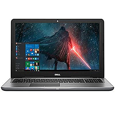 2017 Newest Premium Dell Inspiron 15.6-inch HD+ Display Flagship Laptop PC AMD A9-9400 Dual-Core Processor 8GB RAM 1TB HDD Radeon R5 Graphics WIFI HDMI DVD-RW MaxxAudio Bluetooth Windows 10-Gray