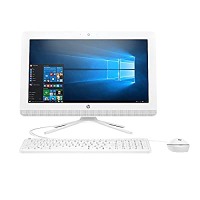 2017 Premium HP All-in-One Desktop 23.8 Inch Full HD (1920x1080),Intel Pentium Quad-Core Processor, 8GB Memory, 1TB Hard Drive,DVD Burner, WiFi/HDMI/Bluetooth 4.0/Webcam, with Wired keyboard and Mouse
