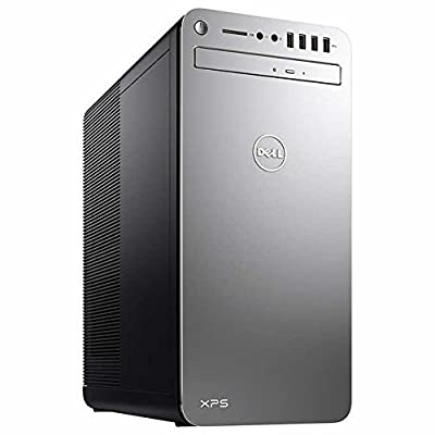 2018 Flagship Dell High Performance XPS 8910 Business Desktop - Intel Core i7-6700 Up to 4.0GHz, 16GB DDR4, 1TB HDD, DVDRW, 2GB AMD Radeon RX 560, 802.11ac, Bluetooth, HDMI, MaxxAudio, Win 10 - Silver