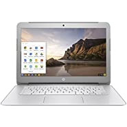 2018 HP Premium High Performance 14 inch Chromebook, HD BrightView Backlit Screen, Intel Celeron 2.16 Ghz Processor,4GB RAM,16GB eMMC HDD,802.11AC WIFI HDMI Webcam Bluetooth, Chrome OS, only 3.74Lb