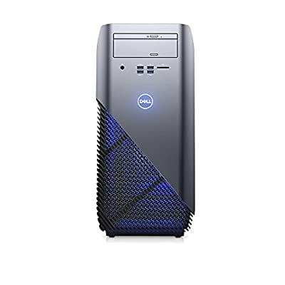 2018 Newest Flagship Dell Inspiron 5675 Premium Gaming VR Ready Desktop Computer (AMD Quad-Core Ryzen 5, 8GB/16GB/32GB RAM, 128GB to 1TB SSD, 1TB/2TB HHD, AMD Radeon RX 570 4GB, DVD, Windows 10)