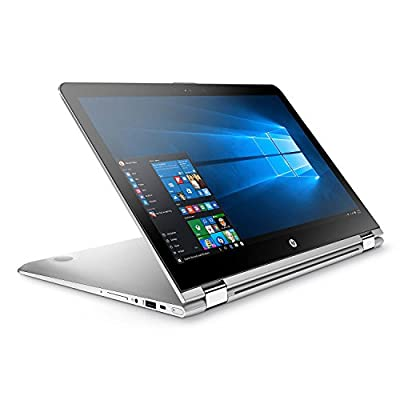 "2018 Newest HP ENVY x360 Convertible 2-in-1 Full HD IPS 15.6"" Touchscreen Notebook, Intel Quad Core i7-8550U Processor, 12GB Memory, 1TB Hard Drive, HD Webcam, Backlit Keyboard, B&O Audio"