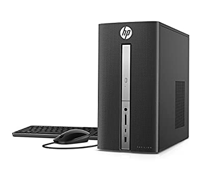 2018 Premium Newest HP Pavilion Flagship Desktop Computer (AMD A12 Processor 3.8Hz upto 4.2Ghz with integrated AMD Radeon R7, 16GB DDR4 RAM, 256GB SSD, DVD-RW, WiFi, Bluetooth,HDMI, VGA, Windows 10)