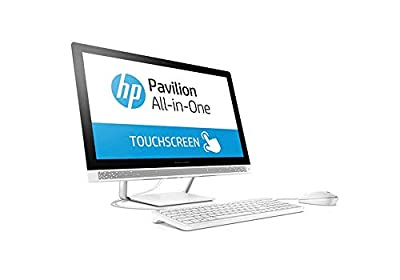 "2019 Flagship HP Pavilion 23.8"" FHD IPS Touchscreen All-in-One Desktop Intel Six-Core i5-8400T up to 3.3GHz 16GB DDR4 512GB SSD DVD Bluetooth 4.2 802.11ac USB 3.1 Type-C Keyboard & Mouse Win 10"