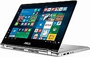 "2019 New ASUS Q405UA Premium Flagship 2-in-1 14"" FHD Touchscreen Laptop, Intel Quad-Core i5-8250U up to 3.4GHz (Benchmark>i7-7500U), 8GB RAM, 1TB HDD, Backlit Keyboard, WiFi, Bluetooth"