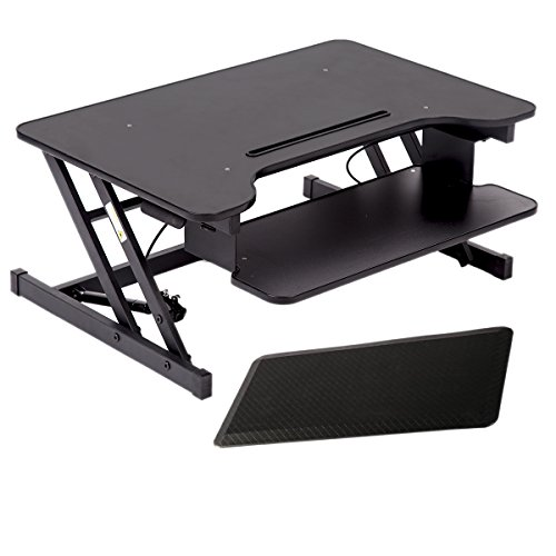 Scaffold Desk Mat : Get quot platform height adjustable standing desk riser
