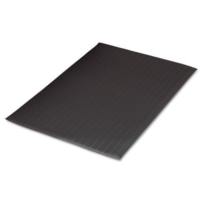 35 in. Antifatigue Mat in Black