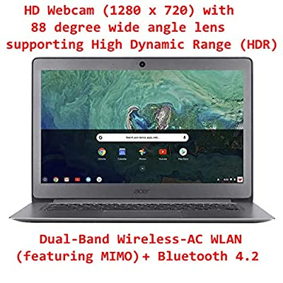 """Acer 14"""" Newest FHD IPS Display Chromebook~Celeron N3160 Quad-Core Processor Up to 2.24Ghz~4GB RAM~32GB SSD~HDMI~WiFi~Bluetooth~HD Cam~Chrome OS(Certified Refurbished)"""