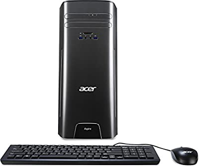 Acer Aspire Desktop, Intel Core i3-6100, 8GB DDR3, 2TB HDD, Windows 10 Home, AT3-710-UR51