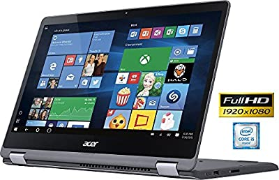 "Acer R5-571T Touchscreen 2-1 Convertible Laptop Intel i5 up to 2.8GHz 8GB 1TB 15.6"" Full HD LED Cam HDMI (Certified Refurbished)"