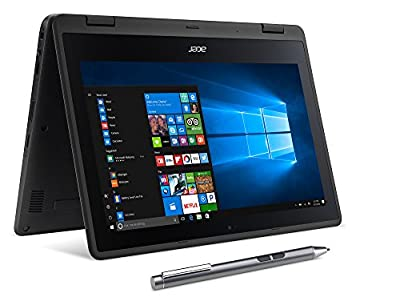 "Acer SP111-31N-C4UG Spin 1, 11.6"" Full HD Touch, 2 in 1 Laptop, Celeron N335, 4GB DDR3L, 32GB Storage, Office 365, Stylus"