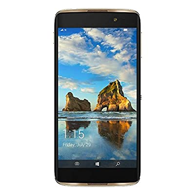 Alcatel IDOL 4S 6071W - 32GB - Gold (T-Mobile) 4G LTE Windows 10 Smartphone (Certified Refurbished)