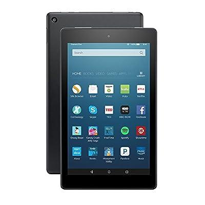 """All-New Fire HD 8 Tablet, 8"""" HD Display, Wi-Fi, 16 GB, Black"""