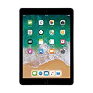 """Apple 9.7"""" iPad (Early 2018, 32GB, Wi-Fi Only, Space Gray) MR7F2LL/A (Refurbished)"""