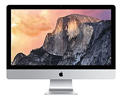 "Apple iMac 27"" Desktop with Retina 5K display - 3.2GHz Intelquad-core Intel Core i5, 2TB Fusion Drive, 16GB 1867MHz DDR3 SDRAM, R9 M380 2GB GDDR5, OS X El Capitan, (NEWEST VERSION)"