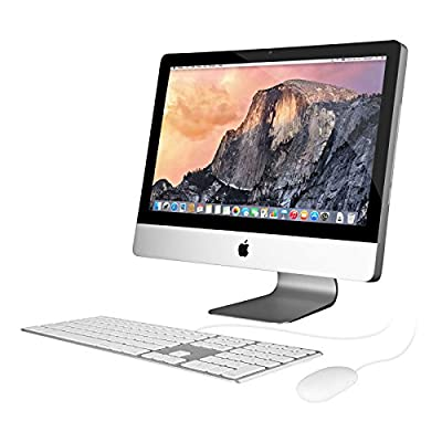 "Apple iMac MA876LL/A 20"" Desktop Computer - Silver (Certified Refurbished)"