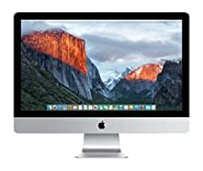 Apple iMac MK472LL/A 27-Inch Retina 5K Desktop (3.2 GHz Intel Core i5, 8GB DDR3, 1TB, Mac OS X), Silver