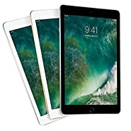 "Apple iPad 9.7"" with WiFi, 128GB (2017 Newest Model) (Certified Refurbished)"