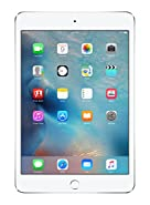 "Apple iPad Mini 4 128GB with 7.9"" Retina Display, Wi-Fi Only, Silver"