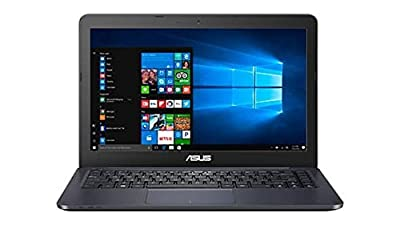 Asus 14 inch FHD (1920 x 1080) Premium Portable Laptop, Intel Dual-Core Processor up to 2.48GHz, 4GB RAM, 32GB eMMC, HDMI, VGA, Webcam, Bluetooth, WiFi, Windows 10