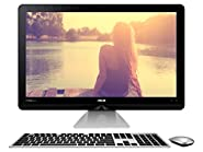 "ASUS ZN270IEUT-DS51 Zen AiO All-in-One PC with 27"" Full HD Touchscreen , Intel Core i5 2.4GHz, 8GB RAM, 1TB HDD, Silver, Windows 10"
