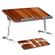 Avantree Large Size Adjustable Bed Table