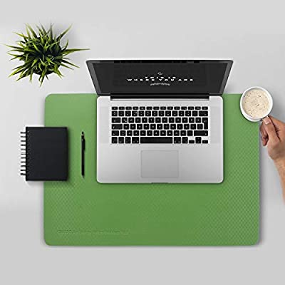 """Callfo Non-slip Desk Mat & Mate Large 24"""" x 17"""" Desktop Pad & Protector Eyestrain Relief Pads for Desktops and Laptops Office Home Writing Gaming Mouse Pad"""