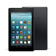 "Certified Refurbished Fire 7 Tablet with Alexa, 7"" Display, 8 GB, Black - with Special Offers"