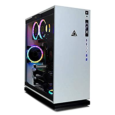 CLX Set - Extreme Gaming Desktop - Intel Core i9 9900K 3.6GHz (Max Turbo 5.0GHz) - 32GB DDR4 Memory - 2 X NVIDIA GeForce RTX 2080 Ti 11GB - 3TB Hard Drive + 960GB SSD - WiFi - White