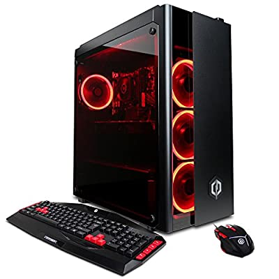 CYBERPOWERPC Gamer Xtreme Liquid Cool GLC4602OPT Desktop
