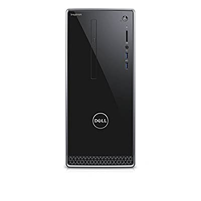 Dell i3668-3205BLK-PUS Inspiron, (7th Gen Core i3 (up to 3.90 GHz), 6GB, 1TB HDD), Intel HD Graphics 630, Black with Silver Trim