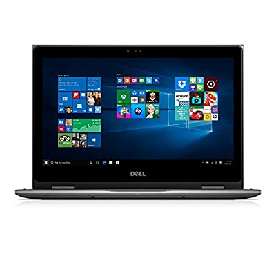 "Dell i5368-7643GRY 13.3"" FHD 2-in-1 Laptop (Intel Core i5-6200U 2.3GHz Processor, 8 GB RAM, 256 GB SDD, Windows 10) Gray"