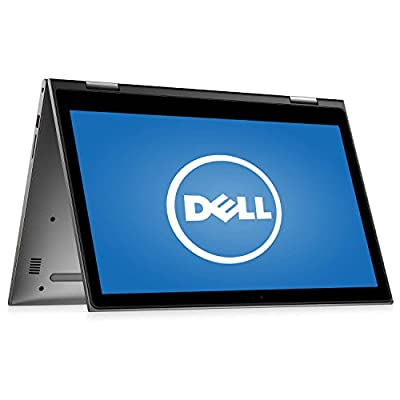 "Dell Inspiron 15.6"" 2 in 1 Touchscreen Laptop Computer, Intel Dual Core i3-6100U 2.3GHz CPU, 4GB RAM, 500GB HDD, HDMI, USB 3.0, Webcam, 802.11ac Wi-Fi, Bluetooth, Windows 10 (Certified Refurbished)"