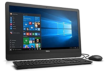 "Dell Inspiron 23.8"" IPS Full HD All-In-One Desktop Computer, Intel Quad Core Pentium N3700 1.6 Ghz CPU, 4GB RAM, 500GB Hard Drive, USB 3.0, DVDRW, 802.11ac WIFI, Bluetooth, Windows 10 Home"